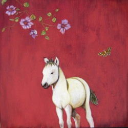 White Pony by Phyllis Stapler
