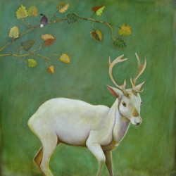 White Stag by Phyllis Stapler