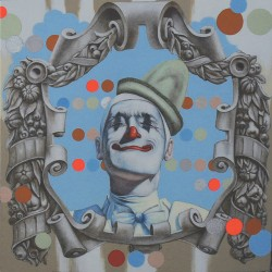 Whiteface Clown by Robert Sites