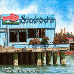 At the Pier by Lynette Cook
