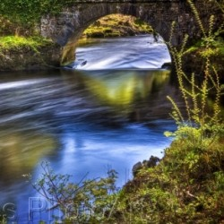 Under the Castle Bridge by Ed Ries Photoart