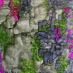 Vines on a Stone Wall by Alice Lipping