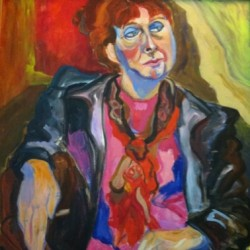 woman of a certain age by Gail Winbury Art