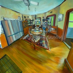 Artist's Home Interior: Kitchen II by Alvin Ouellet