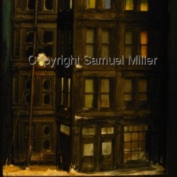 Night Windows by Samuel Miller