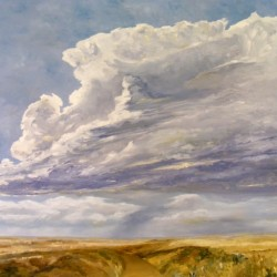Storm Cloud I by Judy Mcclain