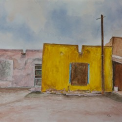 Pueblo #3  Santa Clara by Richard Levine