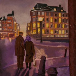 And Violet Becomes The Night, Amsterdam by Richard Levine