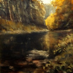 The Golden Pond by Catherine Caulfield Russell