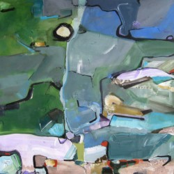 Land Marks II by Susan Ulrich : Abstract Painting