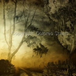 Twilight in an Old Graveyard by Dolores Smart