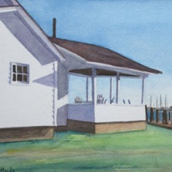 Jupiter Point Porch by Laura Maiolo