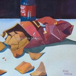 Doritos and a Coke by Mike Maron