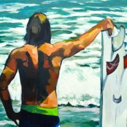 Surfer by Marsha Zavez