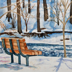 Solitude, Tyler State Park by Judy Latorre Artworks