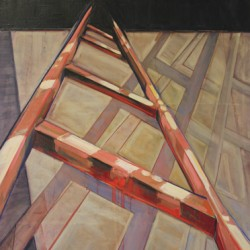 Corporeal Ladder by Linda Streicher