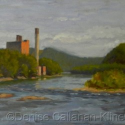 Restoration, the Delaware at the Narrows by Denise     Callanan-kline