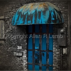 Blue Door by Allan R Lamb