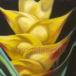 Heliconia Happiness by Jennifer Rutt