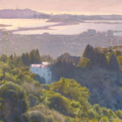 Sunset San Francisco Bay by Kerima Swain Fine Art
