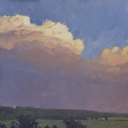 June Cloud Bank by Murray Taylor