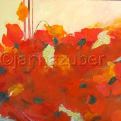 Poppies! by Janna Zuber