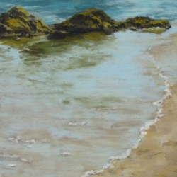 Shore Edge I (#086) by Kathleen Kriegman