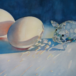 Ham and Eggs by Judy Nunno