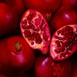 Pomegranates by Lisa Ernst