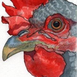 Red Hat Chick by Vernita Bridges Hoyt