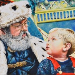 Santa and Jack by Shelly J. Cox