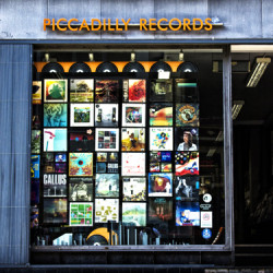 Piccadilly Records (2016) by Lee Furlong Art Photography
