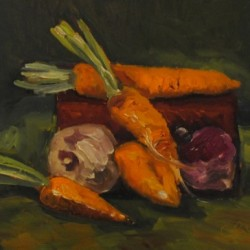 Autumn Veggies by Cindy Ruenes Fine Art