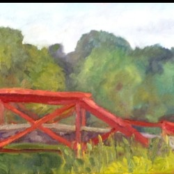 Bridge on a Hot Summer Day by Cindy Ruenes Fine Art