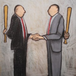 Negotiation by David Ross - Available Prints