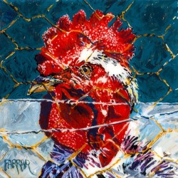 Chicken Wire by Dede Farrar