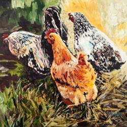 Little Cluckers by Dede Farrar