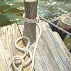 Frank's Boat by Kathleen Joffrion