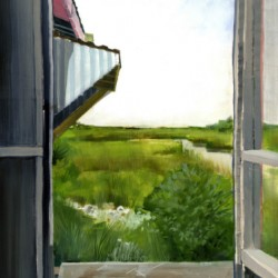Looking Toward Grand Isle by Kathleen Joffrion