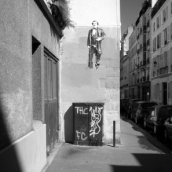 Man walking in the air by Pierre Brule' Fine Art Photography