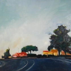 Morning Soledad Mountain Road by Ann Marie Whaley