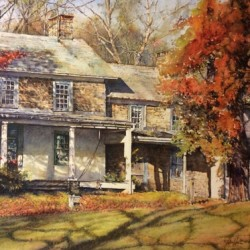 1811 House Route 29 by Richard Hoffman