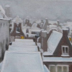 Amsterdam Roofscape by Alison Chambers Rbsa