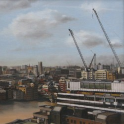Towards Cannon Street by Alison Chambers Rbsa