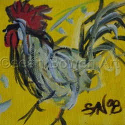 Rooster Blues by Sean Bowen Art